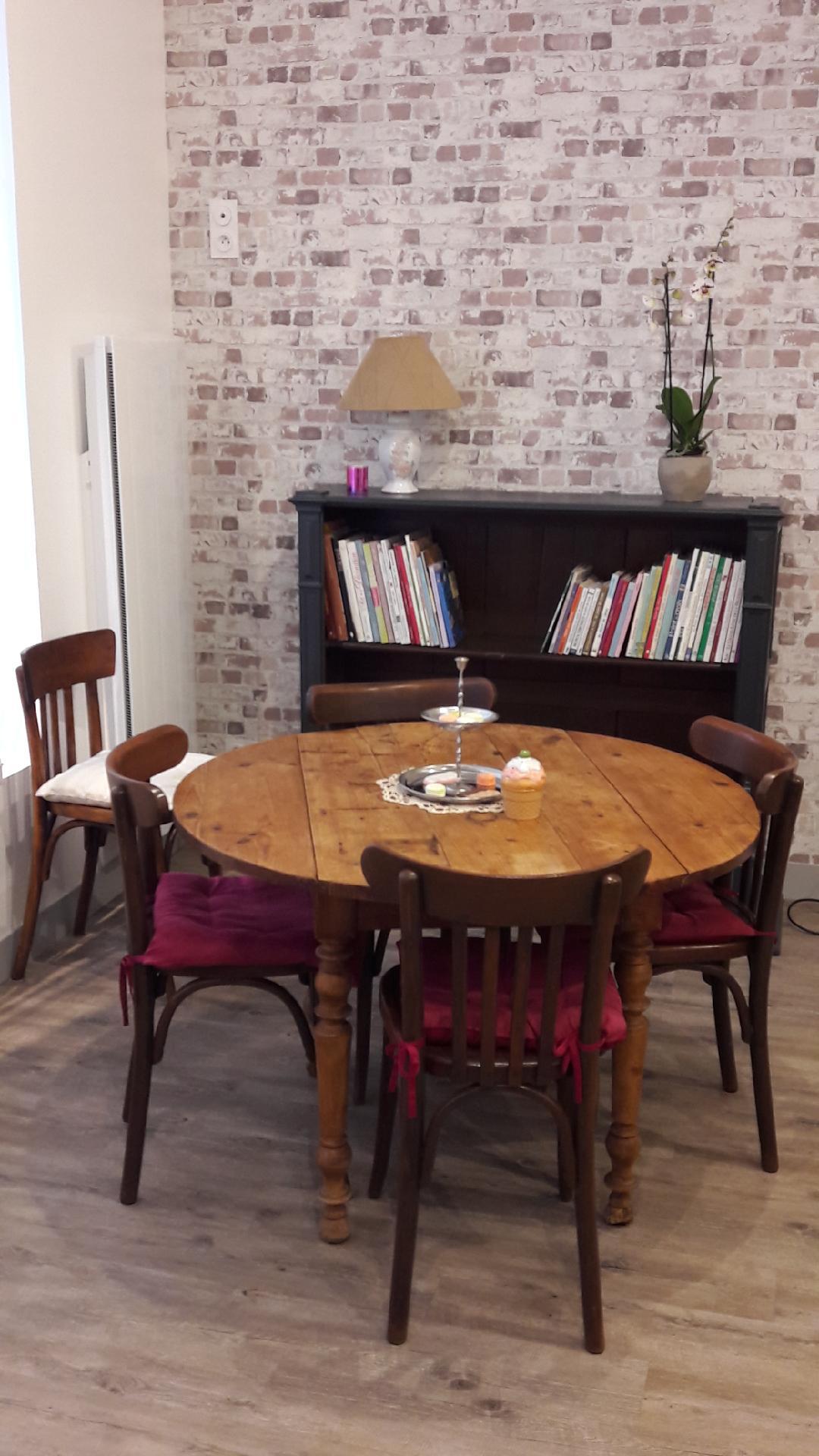Intérieur salon de thé